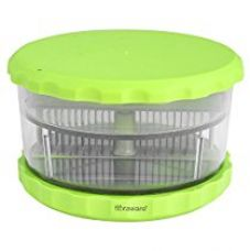 Floraware Garlic Onion Cutter Crusher Peeler, Green for Rs. 199