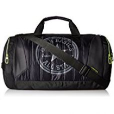 Buy Gear Polyester 47 cms Black and Green Travel Duffel (METDFPRO20103) from Amazon