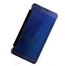 Sun Mobisys®; Samsung Galaxy E7 Flip Cover; Clear View Flip Cover for Samsung Galaxy E7 Navy Blue Mirror for Rs. 599