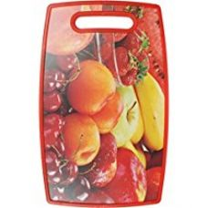 Buy Chrome 3723DRF Plastic Cutting Board, Red from Amazon