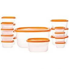 Buy Princeware Package Container Set, 17-Pieces, Orange from Amazon