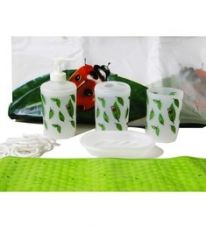 Buy Go Hooked PVC Bathroom Set - Set of 7 from PepperFry