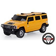 Toyhouse Officially Licensed Hummer SUV 1:24 Scale Model Car with Gravity Sensor Remote, Yellow for Rs. 973