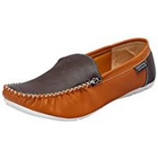 Fausto 1004-40 Brown Men's Loafers for Rs. 499
