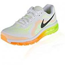 Buy Nike Airmax Men's Sport Shoes (10UK / 11US, White/Green) from Amazon