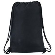 Buy Pole Star Black Polyester 11Litres Drawstring Bag from Amazon