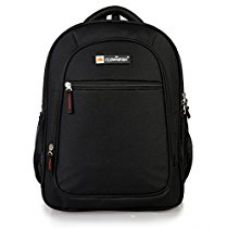 The Clownfish 25 Ltrs Black Laptop Bag / Travel Backpack / School Bag for Rs. 799