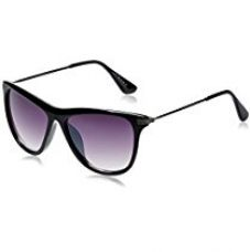 Buy Joe Black Oval Sunglasses (Black) (JB-480|C1) from Amazon