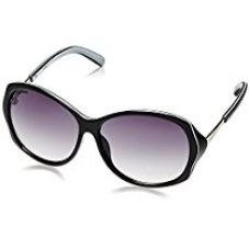 Buy Fastrack Black Oversized Sunglasses (P249BK1F|56|Black) from Amazon