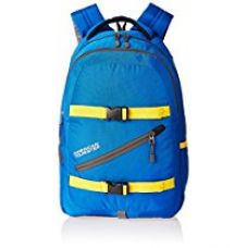 Buy American Tourister 23 Lts Blue Laptop Backpack (ZAP 2016) from Amazon