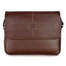 The Clownfish Signature Series Brown 15.6 Inch Laptop And Tablet Bag for Rs. 1,399