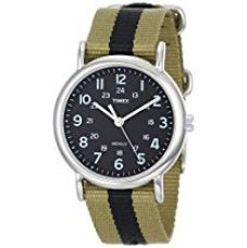 Timex Weekender Analog Black Dial Unisex Watch - T2P236 for Rs. 1,663