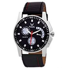 Fogg Analog Black Dial Men's Watch -1015-BK for Rs. 359