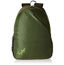 Buy Skybags Brat 22 Ltrs Olive Casual Backpack (BPBRA3OLV) from Amazon