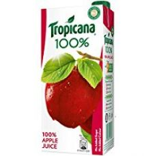 Buy Tropicana 100% Juice - Apple, 1 ltr from Amazon