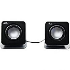Ophion® usb wired 2.0 Multimedia Speakers, Model E-02B (Black) for Rs. 295
