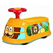 Saffire Kids Ride On Bus with Steering, Orange for Rs. 1,099