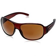 Buy Fastrack Wrap Sunglasses (P236BR2|63|Brown) from Amazon