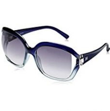 Buy Escada Oversized Sunglass (Transparent and Blue) (SES-185S-09MZ) from Amazon
