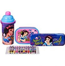 Disney Princess Snow White back to School stationery combo set, 699, Multicolor for Rs. 699