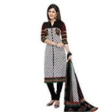 Rajnandini Women's Cotton Printed Dress Material( JOPLSDYA1815_Multicolor_Free Size) for Rs. 630