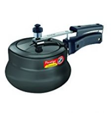 Prestige Nakshatra Plus Hard Anodised Aluminium Pressure Handi, 2 Litres, Black for Rs. 1,495