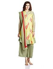 BIBA Women's Anarkali Salwar Suit (SKD4388_Yellow_34) for Rs. 1,499