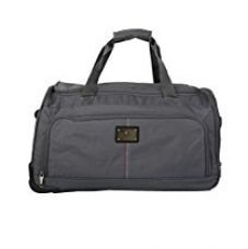 Buy Tommy Hilfiger Polyester 34 cms Grey Travel Duffle (TH/DAL07260) from Amazon