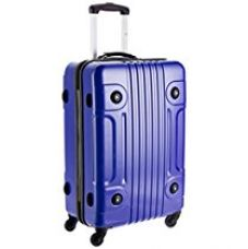 Buy Tommy Hilfiger Austin Exclusive ABS 76 cms Blue Hard sided Carry-On (TH/AUE08075) from Amazon