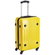 Buy Tommy Hilfiger ABS Yellow Hard Sided Luggage Set (TH/AUE13065) from Amazon