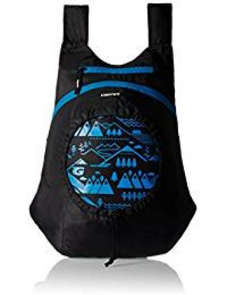 GEAR Black and Blue Kids Backpack (3-5 years old) for Rs. 189