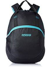 Buy American Tourister 13 Ltrs Black Backpack (Flint Backpack 01) from Amazon