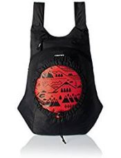 GEAR Black and Orange Casual Backpack (BKPCARYON0106) for Rs. 249