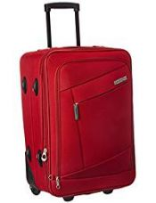 American Tourister Elegance Plus 55 cms Red Soft sided Suitcase (87W (0) 00 001) for Rs. 3,299