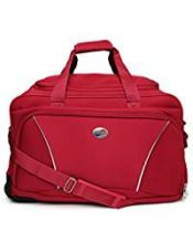 Buy American Tourister Polyester Red Travel Duffle (Y65 (0) 00 357) from Amazon