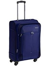 Buy American Tourister Crete Polyester 67cms Ink Blue Softsided Suitcase (49W (0) 01 002) from Amazon