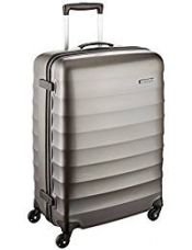 American Tourister Polyester 79 cms Gunmetal Hardsided Suitcase (71W (0) 58 003) for Rs. 6,480