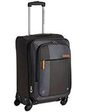 American Tourister Hugo Polyester 55cms Grey Softsided Carry-On (53W (0) 08 001) for Rs. 3,420