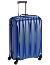 Buy American Tourister Polycarbonate 68 cms Midnight Blue Hardsided Suitcase (38W (0) 11 002) from Amazon