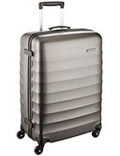 American Tourister Polyester 69 cms Gunmetal Hardsided Suitcase (71W (0) 58 002) for Rs. 5,535