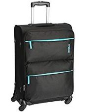 Buy American Tourister Velocity 66 cms Black Soft sided Suitcase (90X (0) 09 102) from Amazon