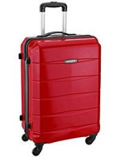 Buy Safari Re-Gloss Polycarbonate 66 cms Red Suitcases (NEW-Re-Gloss-65-Red-4WH) from Amazon