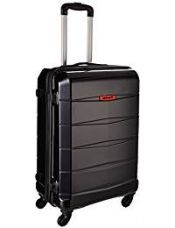 Safari Re-Gloss Polycarbonate 76 cms Black Suitcases (NEW-ReGloss-77-Black-4WH) for Rs. 4,320