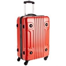 Buy Tommy Hilfiger Austin Exclusive ABS 66 cms Red Hard sided Carry-On (TH/AUE04065) from Amazon