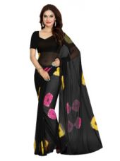 Buy Faux Georgette Printed Saree for Rs. 399