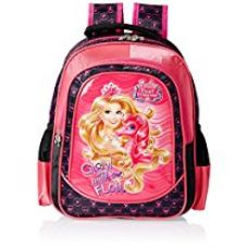 Barbie Pink and Black Children's Backpack (Age group :3-5 yrs) for Rs. 999