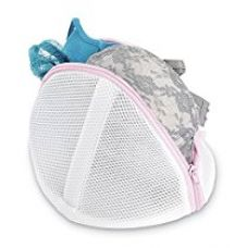 Buy Whitmor Mesh Bra Wash Bag, White from Amazon