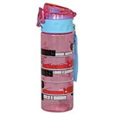 Disney Minnie Plastic Sipper Bottle, 600ml, Pink/Blue for Rs. 424