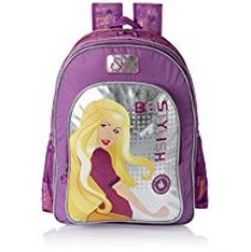 Buy Simba 40 litres Lavender and Silver Children's Backpack (St-Slbs-2009-16) from Amazon