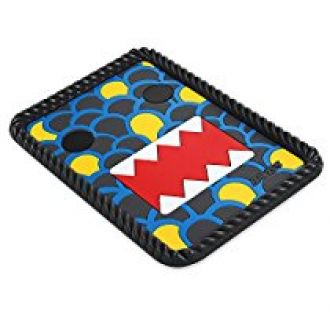 Buy Zoook ZMT-CAE115-01 Moto69 Non Slip Anti Skid Eyes Car Dashboard Mat (Blue) from Amazon